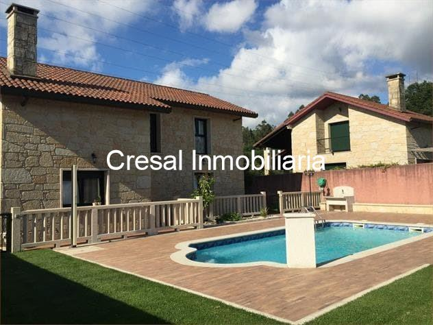 Bonita casa de piedra con piscina santiago - Piscinas santiago de compostela ...